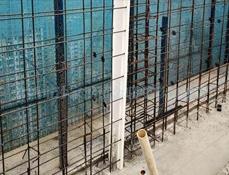 现场安装PVC结构拉缝